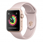 Apple Watch Sport 3 (42mm) Gold, Pink Sand
