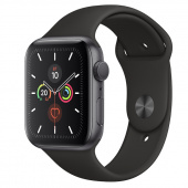 Apple Watch Sport 5 (44mm) Space Gray, Black Ростест