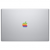 Наклейка Skinat на логотип Apple MacBook