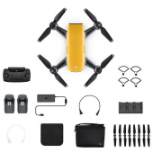 Квадрокоптер DJI Spark Combo Sunrise Yellow