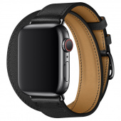 Браслет Leather Double Tour для Apple Watch 42/44mm Кожа
