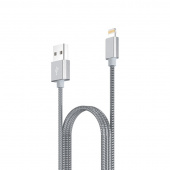 Кабель USB Lightning Metal Hoco UPF01 120см
