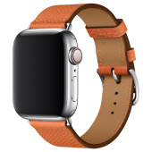 Браслет Leather Simple Tour для Apple Watch 42/44mm Кожа