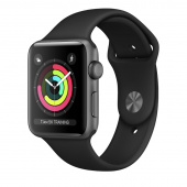 Apple Watch Sport 3 (42mm) Space Gray, Black Ростест