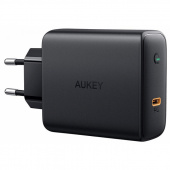 Сетевое ЗУ Aukey USB-C PD 60W Wall Charger with GaN Power Tech