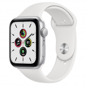 Apple Watch Sport SE (44mm) Серебристый, Белый Ростест